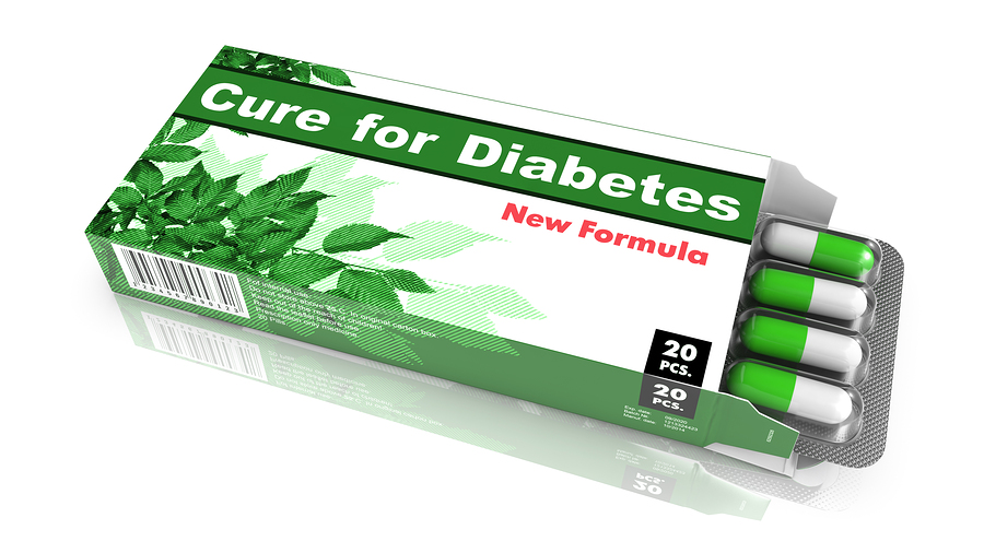 Cure for Diabetes - Pack of Pills.